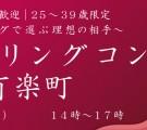 お一人参加歓迎!25~39歳限定!フィーリングで選ぶ理想の相手☆フィーリングコン-有楽町(12/6)