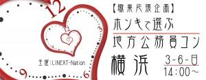 【職業応援企画】ホンキで選ぶ☆地方公務員コン-横浜(3/6)