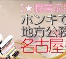 【職業応援企画】ホンキで選ぶ☆地方公務員コン-名古屋(3/13)